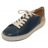 Pikolinos Women's Mesina W6B-6836 In Sapphire Leather