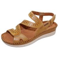 Pikolinos Women's Altea W7N-0630 In Honey Calfskin Leather
