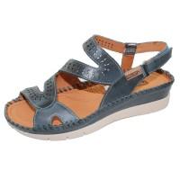 Pikolinos Women's Altea W7N-0630 In Ocean Calfskin Leather