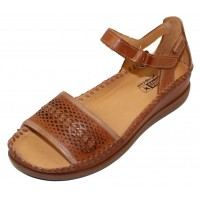Pikolinos Women's Cadaques W8K-1875 In Brandy Leather