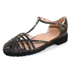 Ron White Women's Gina In Smoke Glitter Patent Leather