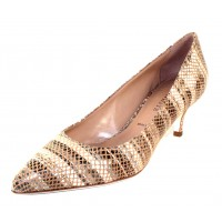 Ron White Women's Moreen In Nude Rania Printed Suede