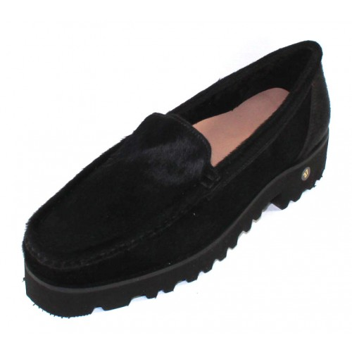 Ron White Women's Rita Cozy In Onyx Black Haircalf