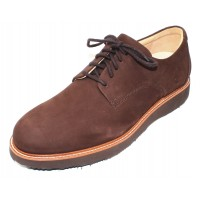 Samuel Hubbard Men's Bucks In Brown Nubuck