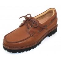 Samuel Hubbard Men's Camplight In Saddlebag Tan Full Grain Leather