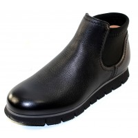 Samuel Hubbard Women's Samsport Chelsea Boot In Black Grain Leather