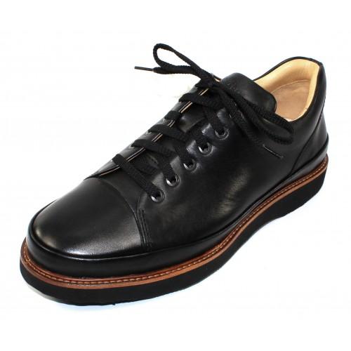 Samuel Hubbard Men's Dress Fast In Black Full Grain Leather
