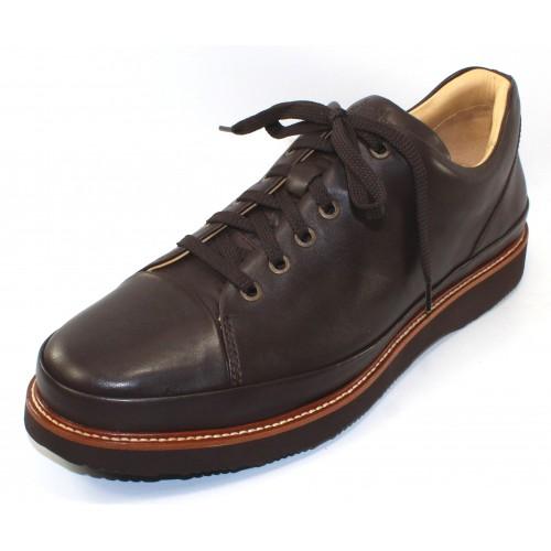 Samuel Hubbard Men's Dress Fast In Brown Full Grain Leather