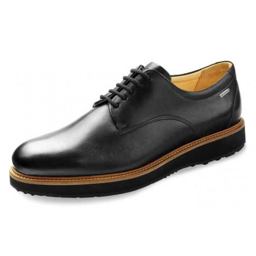 Samuel Hubbard Men's Founder In Black Full Grain Leather/Black Outsole