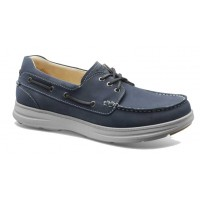 Samuel Hubbard Men's New Endeavor In Driftwood Blue Waxed Nubuck