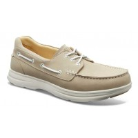 Samuel Hubbard Men's New Endeavor In Driftwood Natural Waxed Nubuck