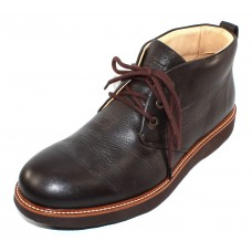 Samuel Hubbard Men's Re-Boot In Espresso Brown Full Grain Leather