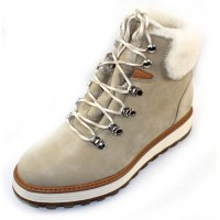 Samuel Hubbard Women's Shear Alpine In White Waterproof Nubuck
