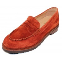 Samuel Hubbard Women's Tailored Traveler In Paprika Suede
