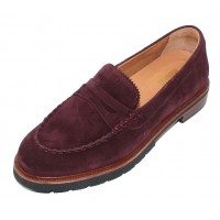 Samuel Hubbard Women's Tailored Traveler In Wine Suede