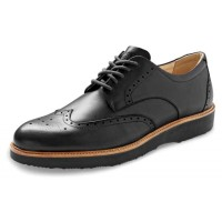 Samuel Hubbard Men's Tipping Point In Black Full Grain Leather/Black Outsole