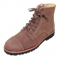 Samuel Hubbard Men's Uptown Maverick In Pebble Brown Nubuck/Black Sole