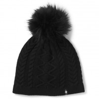 Smartwool Bunny Slope Beanie In Black Nylon/Wool