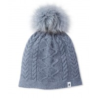 Smartwool Bunny Slope Beanie In Medium Gray Heather Nylon/Wool
