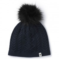 Smartwool Bunny Slope Beanie In Deep Navy Heather