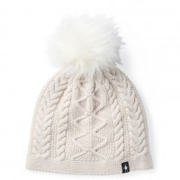 Smartwool Bunny Slope Beanie In Moonbeam Heather Nylon/Wool