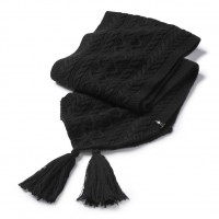 Smartwool Bunny Slope Scarf In Black Nylon/Wool