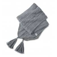 Smartwool Bunny Slope Scarf In Medium Gray Heather Nylon/Wool