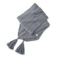 Smartwool Bunny Slope Scarf In Medium Gray Heather Nylon/Wool