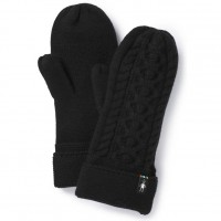 Smartwool Bunny Slope Mitten In Black Nylon/Wool