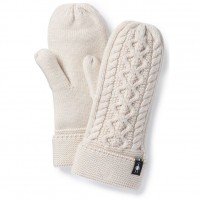 Smartwool Bunny Slope Mitten In Moonbeam Heather Nylon/Wool