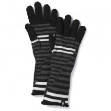 Smartwool Snow Drift Gloves In Black Wool/Acrylic