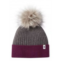 Smartwool Powder Pass Beanie In Sangria Wool/Acrylic