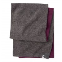 Smartwool Powder Pass Scarf In Sangria Wool/Acrylic