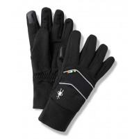 Smartwool Merino Sport Fleece Insulated Training Glove In Black Poly/Merino Wool
