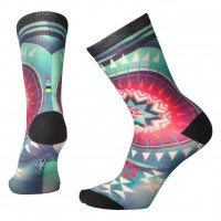 Smartwool Morningside Curated Crew Socks In Glacial Blue Wool/Nylon