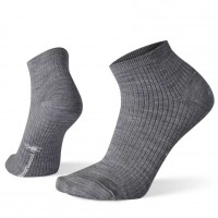 Smartwool Texture Mini Boot Socks In Light Gray