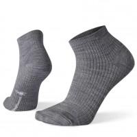 Smartwool Texture Mini Boot Socks In Light Gray