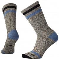 Smartwool Birkie Crew Socks In Black Wool/Nyon