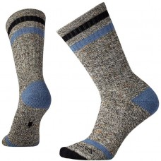 Smartwool Birkie Crew Socks In Black Wool/Nyon