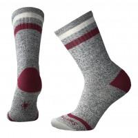 Smartwool Birkie Crew Socks In Tibetan Red Heather Wool/Nylon