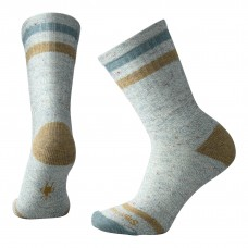 Smartwool Birkie Crew Socks In Mediterranean Green Heather Wool/Nylon