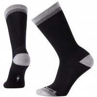 Smartwool Jitterbug Crew Socks In Black Wool/Nyon