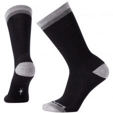 Smartwool Jitterbug Crew Socks In Black Wool/Nyon