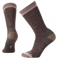 Smartwool Jitterbug Crew Socks In Taupe Heather Wool/Nylon
