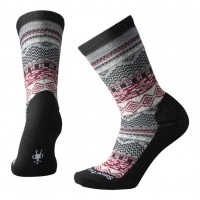 Smartwool Dazzling Wonderland Crew Socks In Black Wool/Nylon
