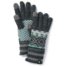 Smartwool Dazzling Wonderland Glove In Lochness Heather