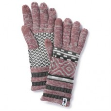 Smartwool Dazzling Wonderland Glove In Nostalgia Rose Heather