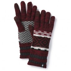 Smartwool Dazzling Wonderland Glove In Tibetan Red