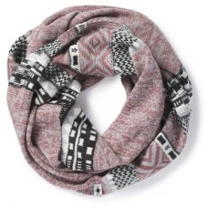 Smartwool Dazzling Wonderland Infinity Scarf In Nostalgia Rose Heather
