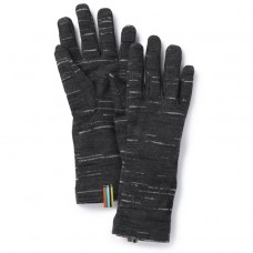 Smartwool Merino 250 Pattern Gloves In Charcoal-Black Wool